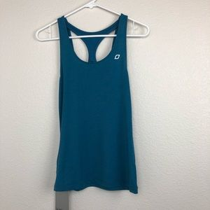 NWT Lorna Jane luxe teal movement active tank